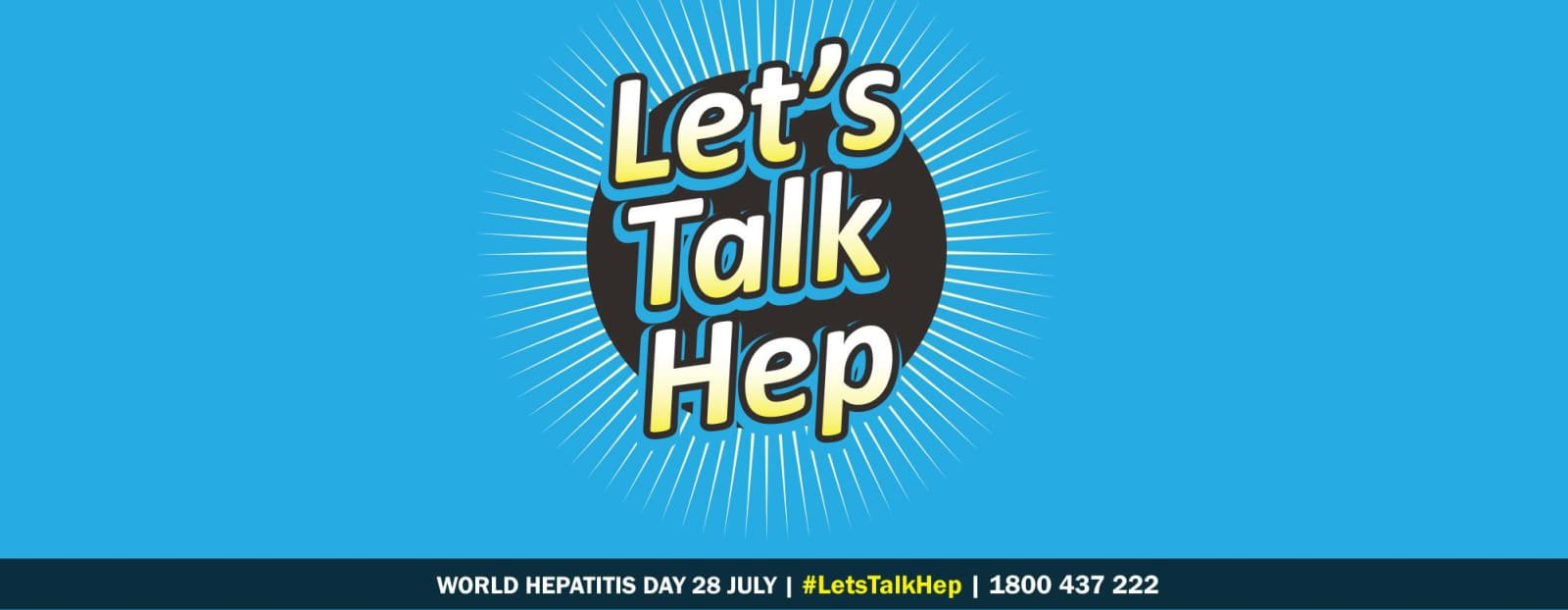 Let's Talk Hep on World Hepatitis Day – 28 July